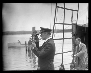 Explorer Donald MacMillan in Wiscasset, ME before sailing north