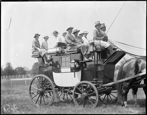 Old-time coach
