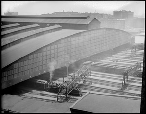 Old South Station train shed