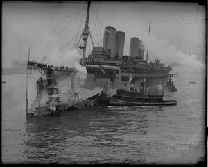26th Division arrives home aboard the SS Mt. Vernon