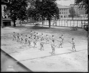 Navy Yard, common scene during war time