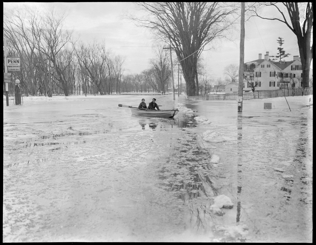 Flood in New England