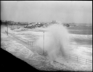 Storm Beachmont (Revere), surf