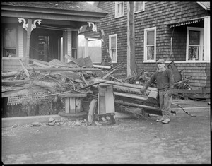 Colebrook, N.H. flood.
