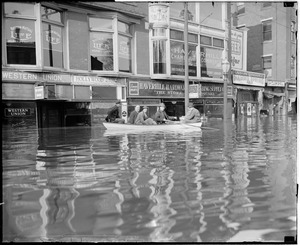 Flood in Haverhill