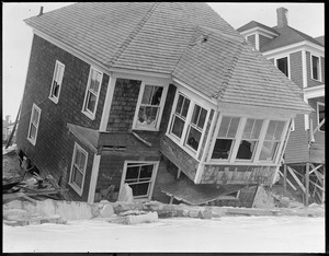 Wrecked house - Hampton Beach, N.H.