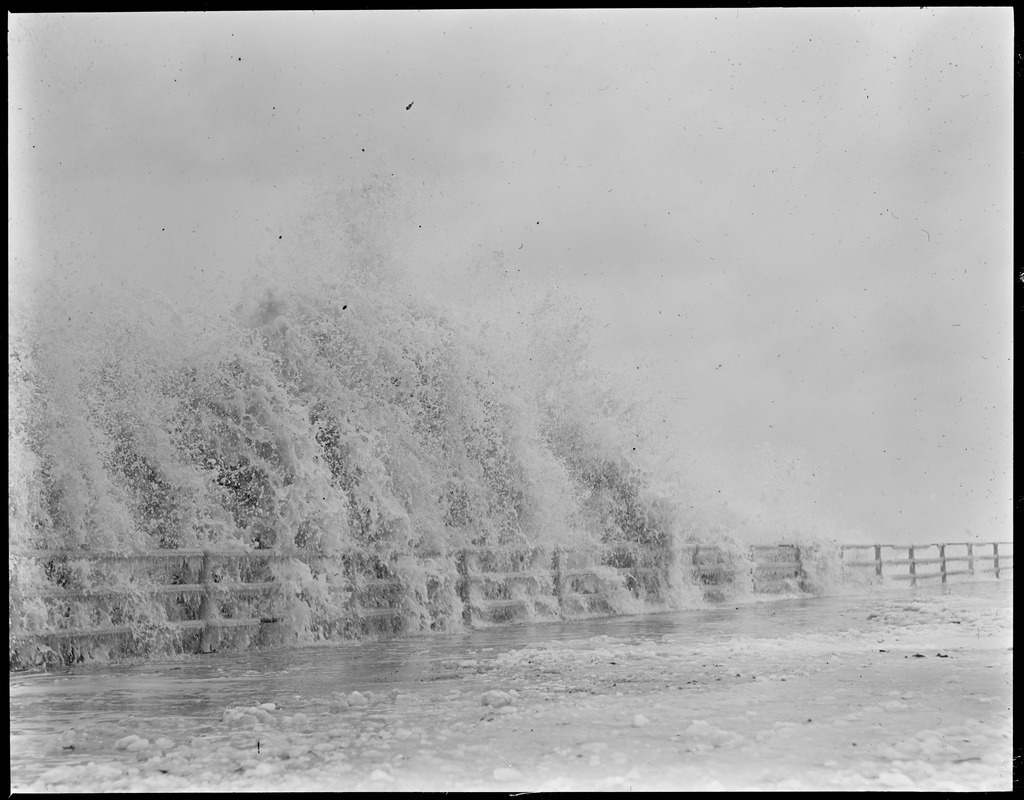Surf at Winthrop during storm