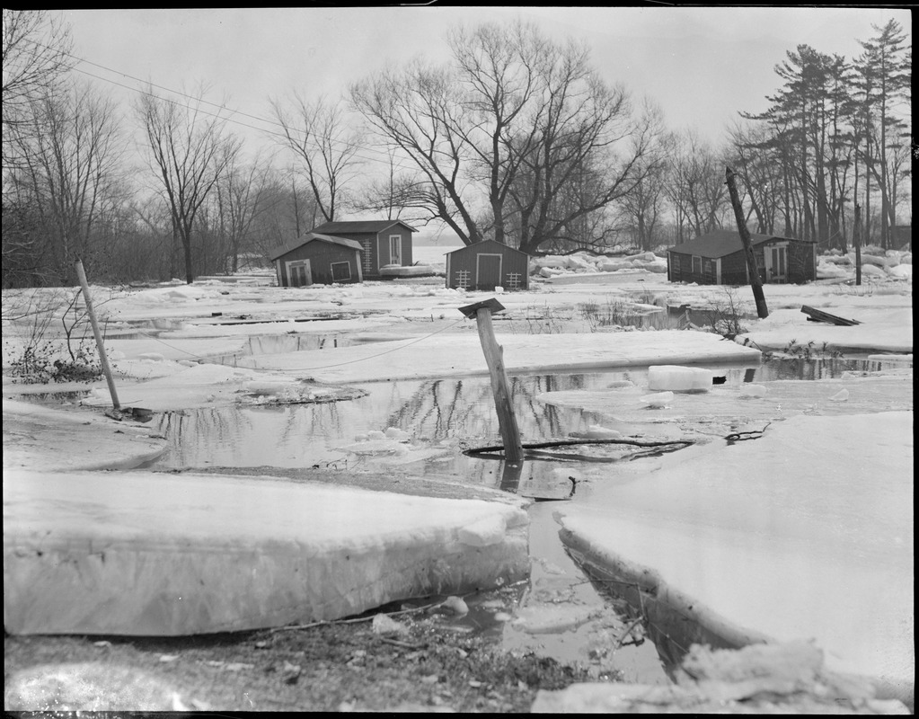 Aftermath of New England flood
