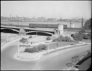 Longfellow Bridge and new drive