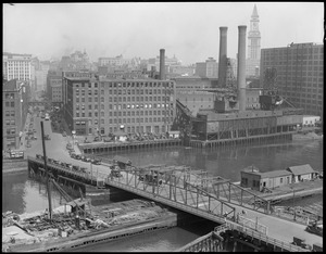 Old Congress St. Bridge just prior to the construction of the $800,000 new one