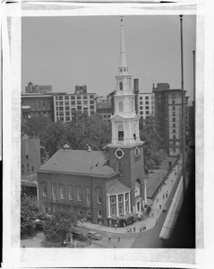 Park Street Church, Tremont and Park streets