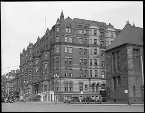 Last picture of Hotel Brunswick, Boylston St., before demolition