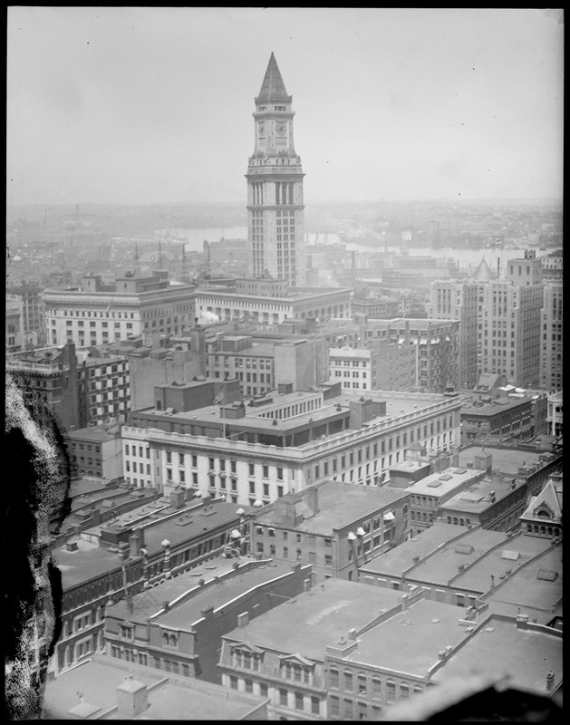 Downtown showing Custom House Tower
