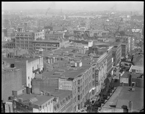 Hanover St. from Pemberton Square, Boston [North End]