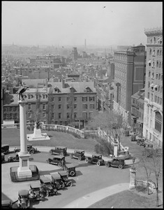 West End, Charlestown, and Bunker Hill Monument from State House