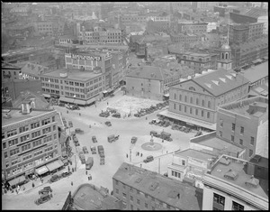 Dock Square and Faneuil Hall from Ames Building