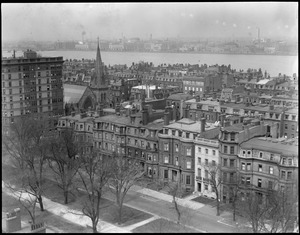 Back Bay district from Ritz-Carlton