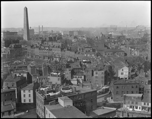 Bunker Hill Monument and old Charlestown