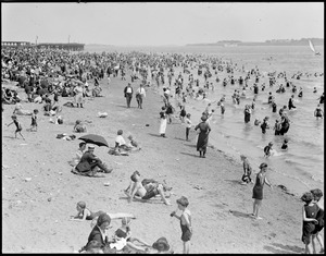 Bathing at City Point, South Boston
