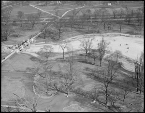 Aerial view of the Public Garden