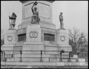 Boston Commons soldiers and sailors monument