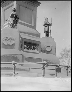 Boston Common - Soldiers' and sailors' monument