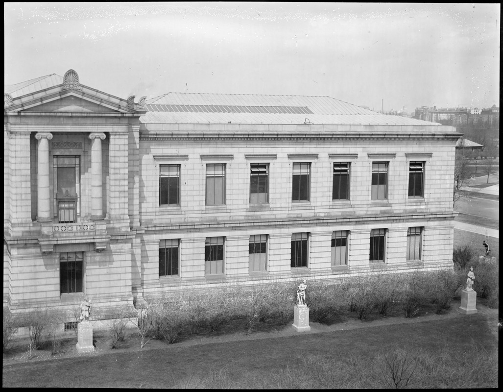 Museum of Fine Arts, Huntington Ave. (Right side of panorama)