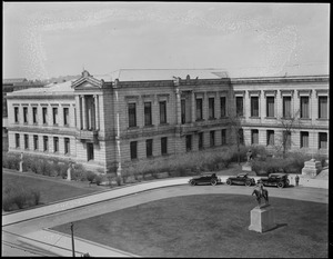 Museum of Fine Arts, Huntington Ave. (Left side of panorama)