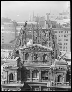 Famous old post office building being torn down