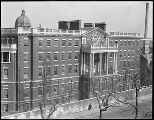 City hospital from Mass. Ave. side