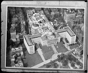 State House from the air
