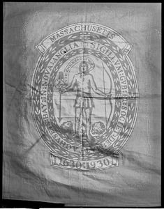 State House - Mass. Seal - 1630-1930