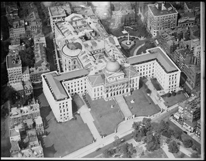 State House from an aeroplane