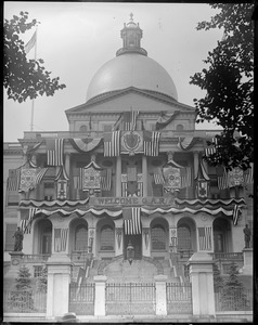 State House decorated for G.A.R.