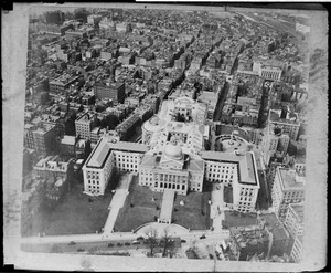 Bird's eye view of State House