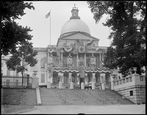 State House decorated for G.A.R. celebration
