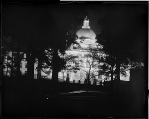State House lighted up to celebrate Edison Jubilee