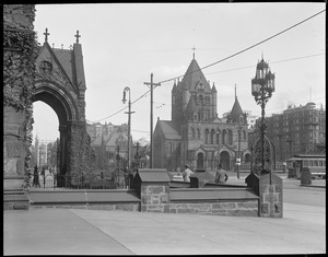 Copley Square and Trinity Church from new Old South Church