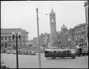 Copley Square toward new Old South Church