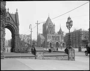 Copley Square & Trinity Church from new Old South Church