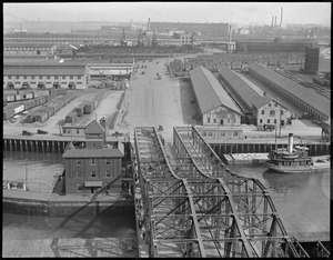 Northern Ave. Bridge and Fort Point Channel area from appraisers stores