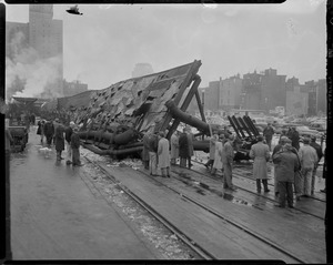 Canopy collapses, North Station