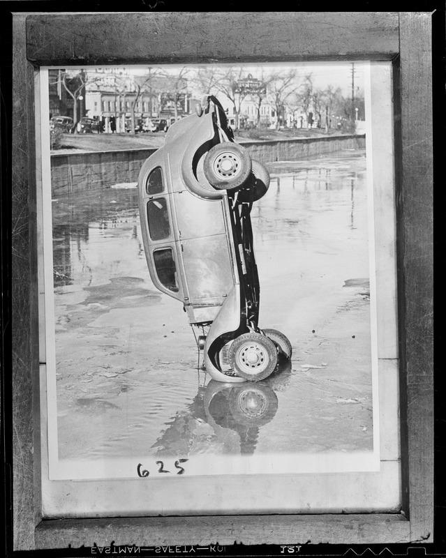 Hauling auto out of water