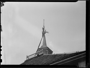 Attaching weather vane