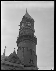 Details - clock tower