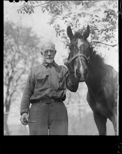 Anthony Thieme and his horse