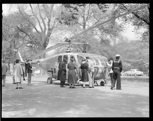 Helicopter, Boston Common