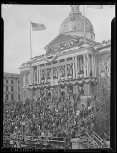 American Legion welcome banner, State House
