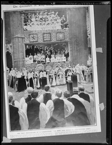 Coronation of the King & Queen in Westminster Abbey