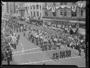 American Legion Parade on Tremont